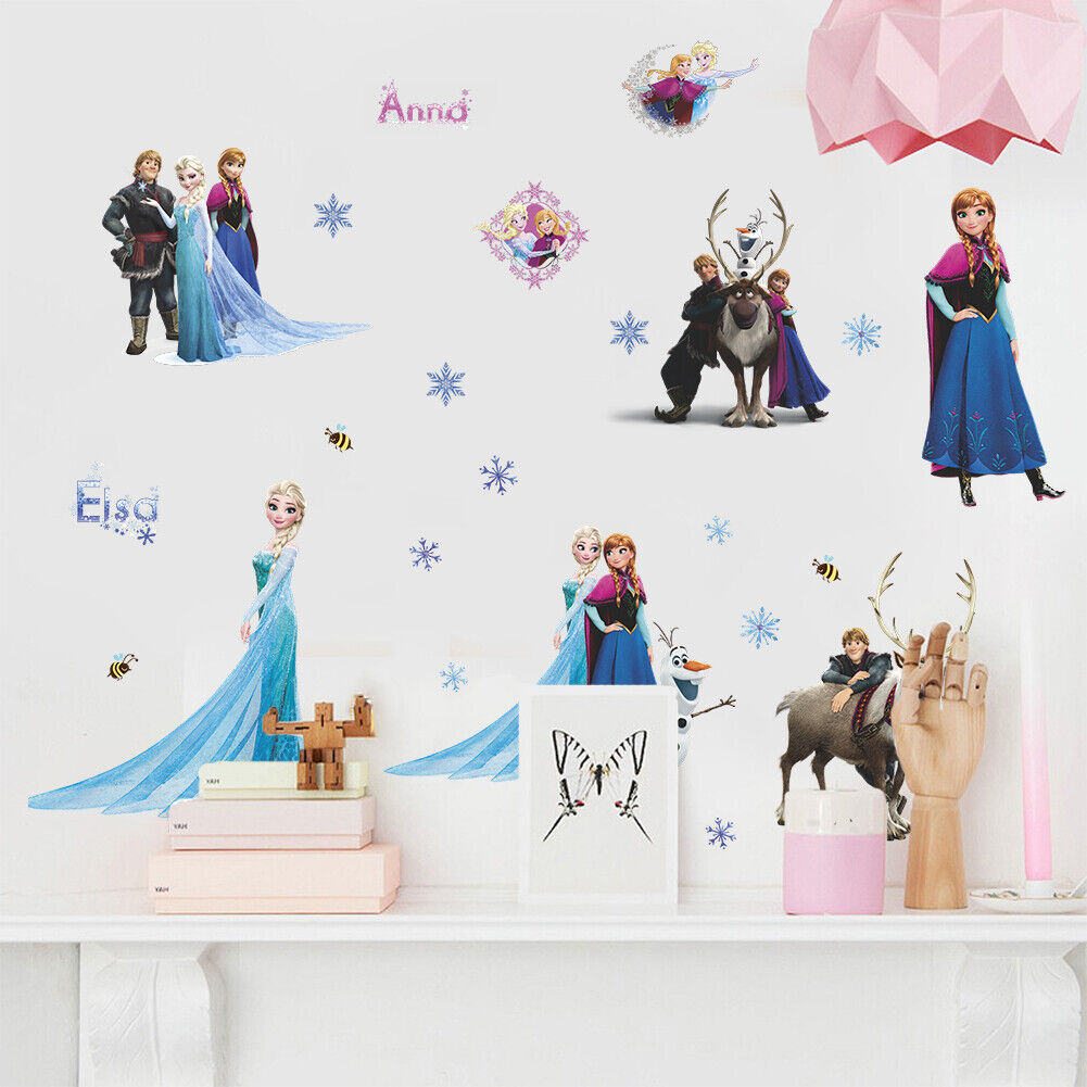 "Home Decoration - Removable Wall Sticker home decor AU Stock ""Frozen, Princess """