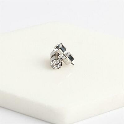 Michael Kors Cubic-Zirconia Silver Tone Stud Earrings