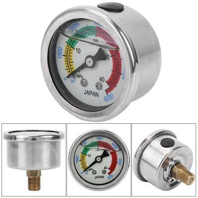 0-6000psi 0-40mpa Air Pump Pressure Gauge Diving Equippment Manometer Measure Us