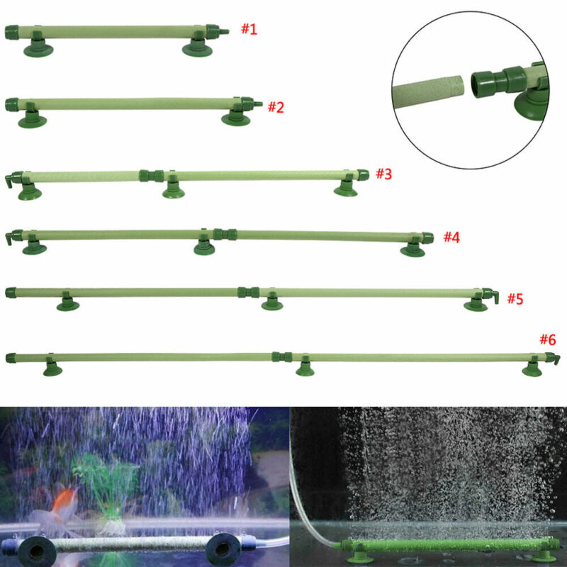 Fish Tank Air Bubble Stone Aerator Aquarium Pump Hydroponic Oxygen Diffuser Tube