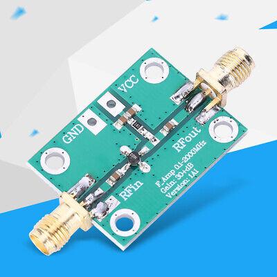 Radio Frequency Rf Broadband Amplifier Low Noise Lna Board Module Gain 30db