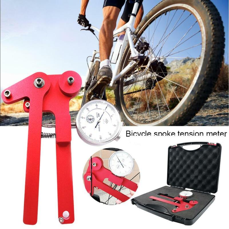 US Bicycle Spoke Tension Meter Wheel Steel Ring Correction Meter Adjustment Tool