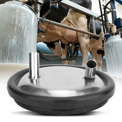 Stainless Steel Can Milkcanister With Lidmilk Pot Bucket Gallon Milker Open Lid