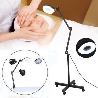 Kaltlicht Lupenleuchte Tisch-Lupenlampe Kosmetik Standlupe 5 / 8 Dioptrien Linse