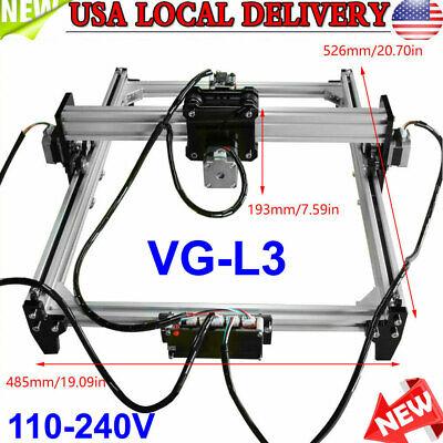 110-240v Laser Engraver Cnc Printer Engraving Machine Kit Without Laser Head
