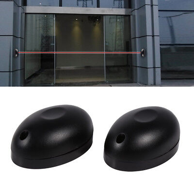 1 Pair Single Beam Alarm Photoelectric Infrared Detector Home Safety System Door