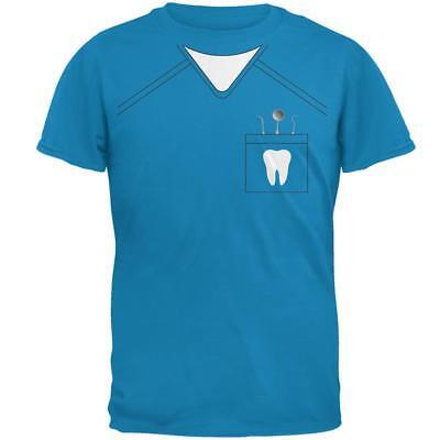 Halloween Dentist Scrubs Costume Mens T Shirt - Halloween Costume Scrubs