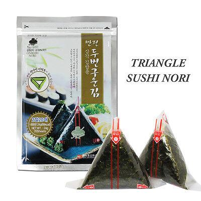 Onigiri Nori Rice Ball Triangle Sushi Seaweed Wrappers Starter Kits with Mold