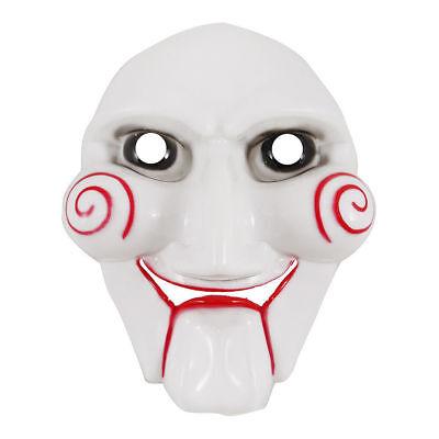 Halloween Jigsaw Maske Erwachsene Saw Kostüm Marionette Spook Totenkopf V09 936