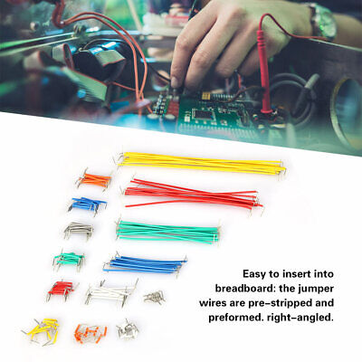 Hot Solderless Breadboard Jumper Cable Wire Kit For Arduino Shield 140pcs