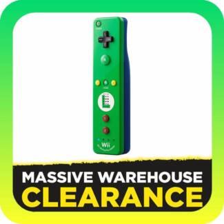 Official Nintendo Wii / Wii U Remote Plus Luigi Edition