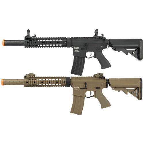 "Lancer Tactical ProLine Full Metal SD RIS 9"" AEG Airsoft Rifle LT-15C-G2-ME"