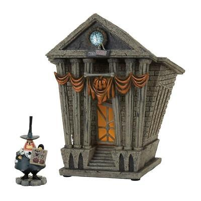 Department 56 Nightmare Before Christmas Village Halloween Town City Hall Lit Ho ()