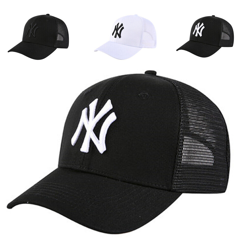 Summer Breathable Mesh NY New York Yankees Hat Sport Basebal