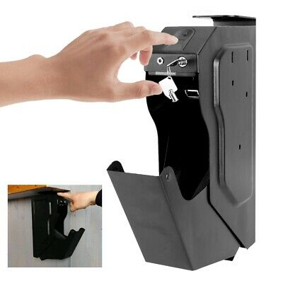 Safe Box Weapon Gun Biometric Fingerprint Lock Pistol Safe Box With spare keys