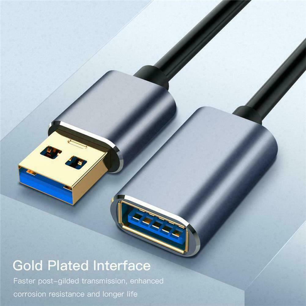 Premium USB Extension Cable USB 2.0 Male to Female Data Sync Extender Cable Long