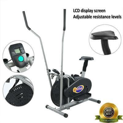 elliptical bike cross training stationary exercise cardio