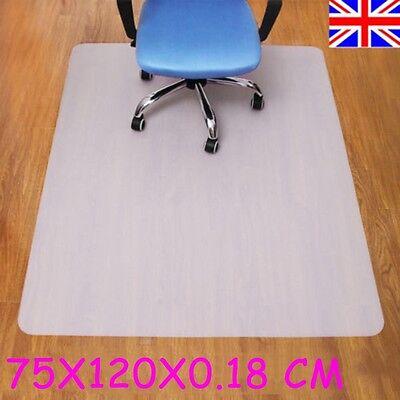 75x120CM PP Hard Wodden Floor Protector Chair Mat Home Office Non Slip Chairmat