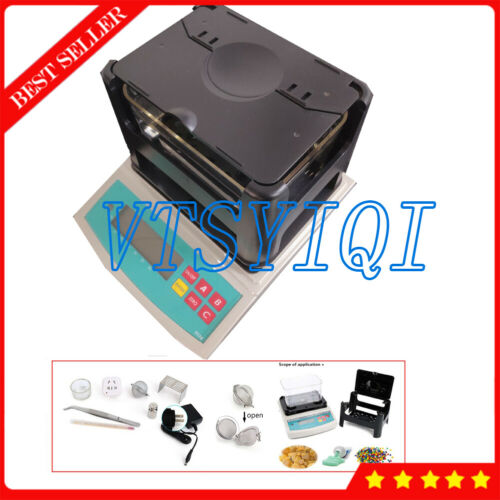 900g/0.01g Electronic Solid Density Meter Gravity Balance Densimeter Gravimeter