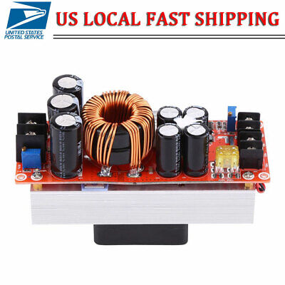 1500w 30a Dc-dc Boost Converter 10-60v To 12-90v Step-up Power Supply Module New