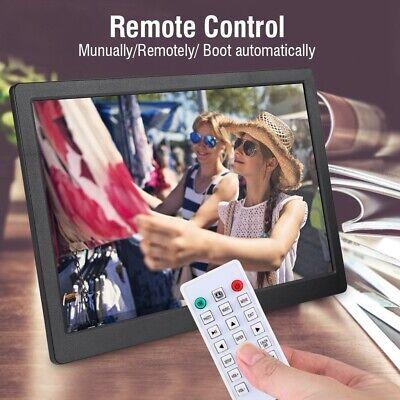 15,4 Zoll 1280 * 800HD Digitaler Bilderrahmen Wecker Player Fernbedienung ABS DE