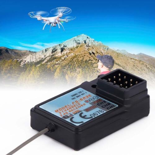 1x Waterproof 3 Channel 2.4G Frequency DC 5V Receiver For FlySky