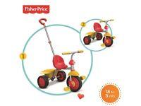 Fisher Price smart bike red/yellow +18months