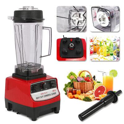 High Speed Heavy Duty Food Blender 2200w Juice Milk Soybean Maker 2l Commercial