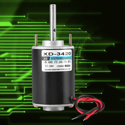 1224v 30w Permanent Magnet Dc Electric Motor High Speed Cwccw Diy Generator