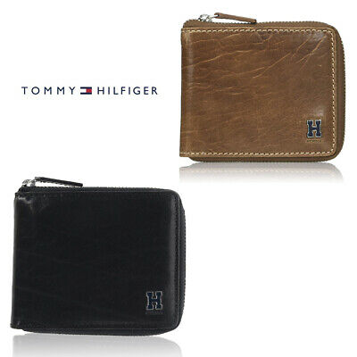 Tommy Hilfiger Men's 31TL130047 RFID Protection Passcase Zip Around Wallet Clothing, Shoes & Accessories