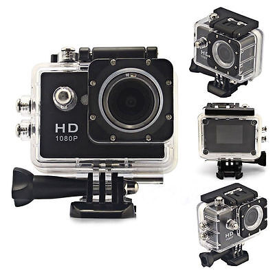 "2"" Full HD 1080P Waterproof Sport DV Action Camera Camcorder SJ4000 as Gopro"