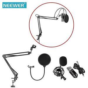 Music Studio Micro Microphone Suspension Boom Arm Stand Support