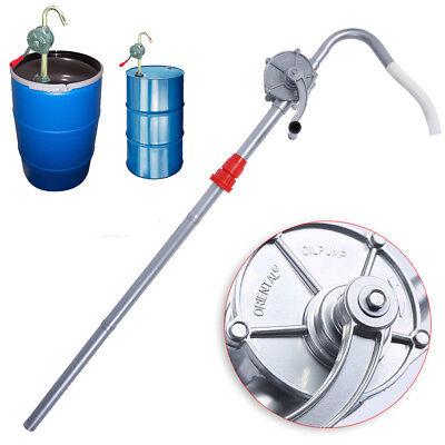 Manual Hand Rotary Barrel Pump Drum Fuel Gas Oil Transfer Pump Crank 55 Gallon
