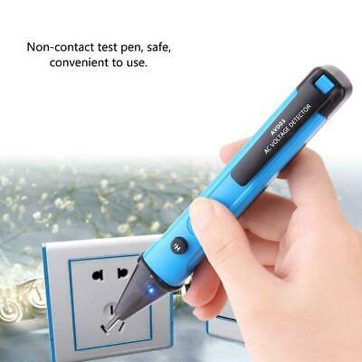 Bside Avd03 Ac Non-contact Electric Test Pen Voltage Detector Tester Buzzer Usa