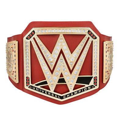 Official WWE Authentic Universal Championship Toy Title Belt 2017 - Wwe Championship Belts