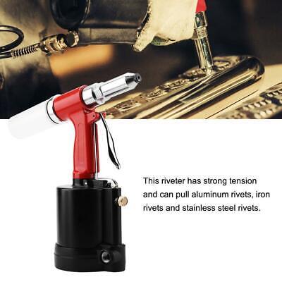 Pneumatic Air Hydraulic Rivet Gun Riveter Riveting Tool Wcase Heavy Duty