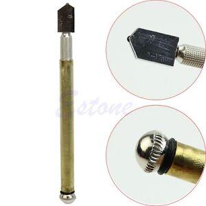 Cutting-Tool-Diamond-Tip-Antislip-Metal-Handle-Steel-Blade-Oil-Feed-Glass-Cutter