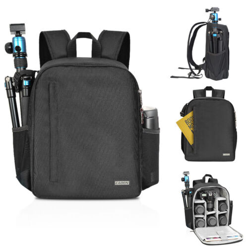 CADeN Camera Bag Backpack Waterproof Case Black Casual Bag f