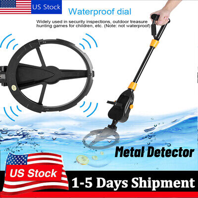 Waterproof Metal Detector Gold Digger Deep Sensitive Search Hunter Lcd Display