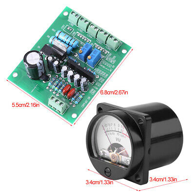 Vu Meter Driver Board Vu Meter Kit Dc Power Supply For Lower Operating Voltage