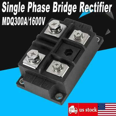 4 Terminals Single-phase Diode Bridge Rectifier Mdq 300a Amp 1600v High Power Us