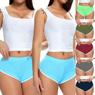 Womens High Waist Yoga Shorts Butt Lift Ruched Pants Booty Leggings Fitness Gym