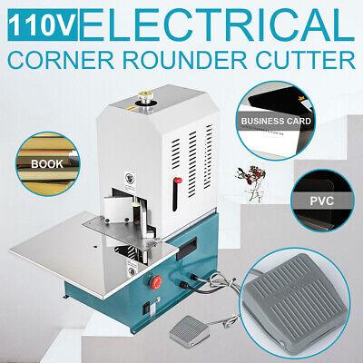 Electric Corner Rounding Machine Round Corner Cutter Business Card Paper