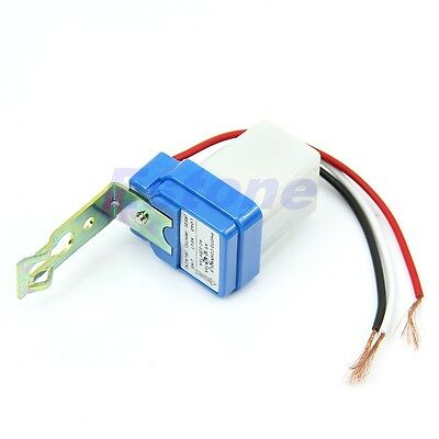 Ac Dc 10a 220v Auto On Off Photocell Street Light Sensor Switch Photoswitch