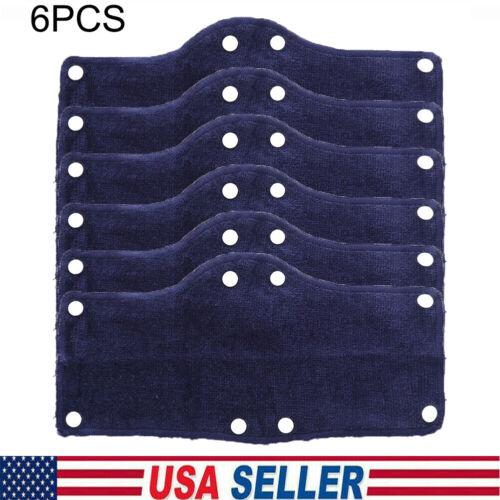 6x Hard Hat Sweatband Cotton Hard Hat Liner, Reusable hardhat sweatbands USA