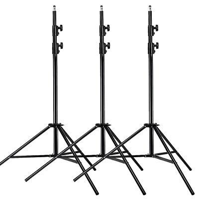 Neewer 9 Ft/260cm Alloy Photography Photo Bracket Studio Light Stand kit