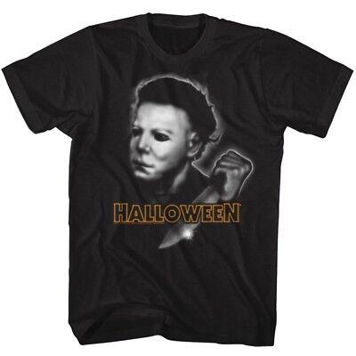 Jack Olantern Scary Halloween (Halloween T-Shirt JACK OLANTERN PUMPKIN AIRBRUSH Great Scary Movie in SM - 5XL)
