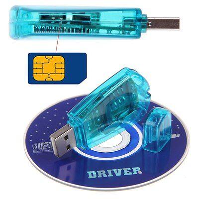 Newest Hot USB SIM Card Reader Copy Cloner Writer Backup GSM SMS CDMA CellPhone