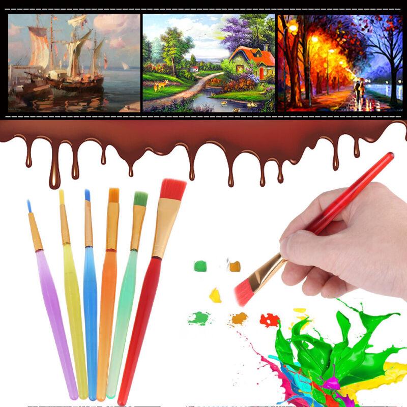 6 Piece Set Of Watercolor Brush Set Piece Of Paint Brush Children