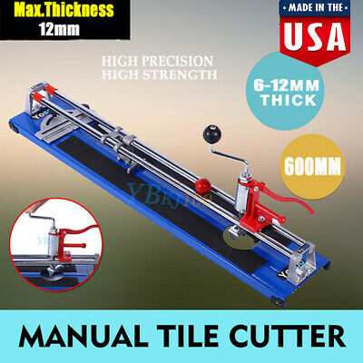 600mm Tile Cutter Heavy Duty Ceramic Floor Wall Hand Cutting Shaper Machine Tool